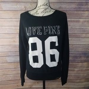 VICTORIA'S SECRET PINK Block Letter 86 Sweatshirt